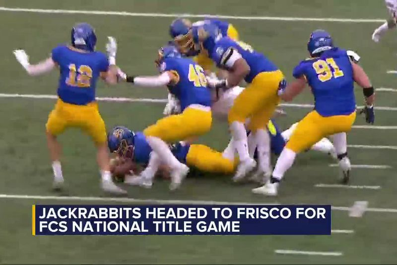 This is the first ever title game for the Jackrabbits.