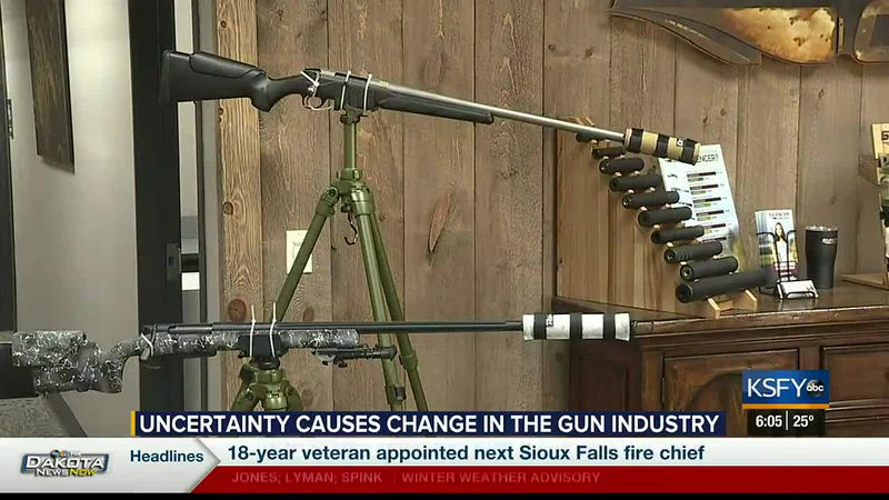 Uncertainty causes changes in the gun industry