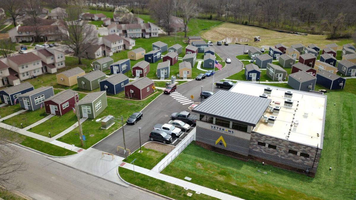 A community of tiny homes designed for homeless veterans and their families could be coming to...