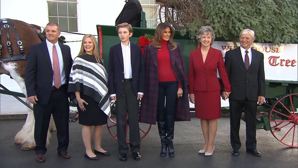 White House Christmas tree hails from Wisconsin farm