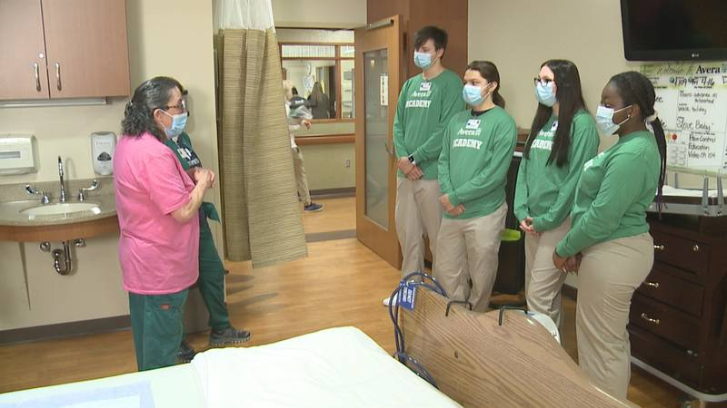So Avera Health is giving Sioux Falls high schoolers an opportunity to explore a possible...