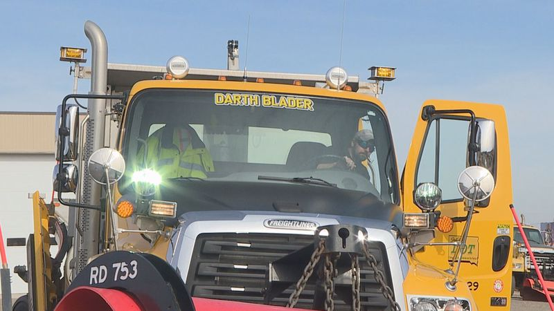 Snow plows that recently received new names after a statewide contest are looking to see their...