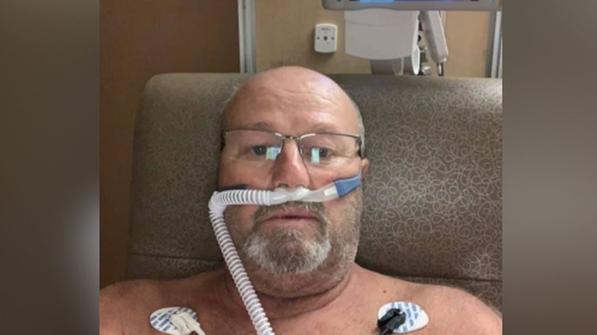 John Bjorkman was hospitalized in September due to COVID-19. (Submitted photo)