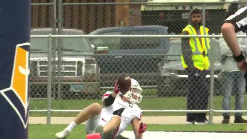 Touchdown catch at Mount Marty