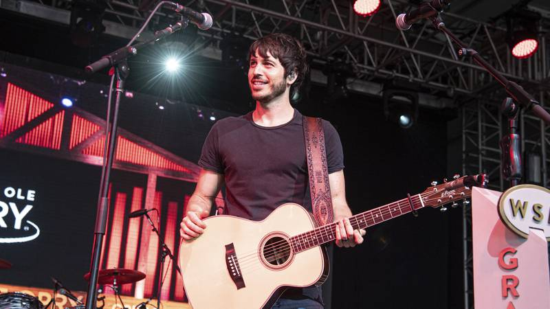 Country singer Morgan Evans will open the concert for the Wagon Wheel event at the W.H. Lyon...