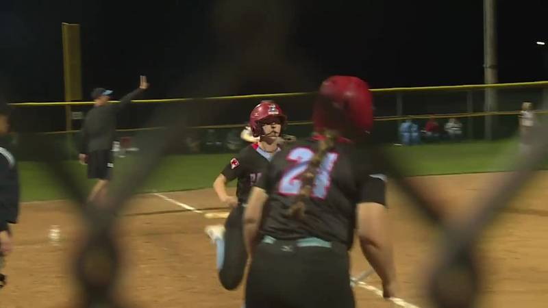 Scores six runs in final at-bat to win State A SOftball Title