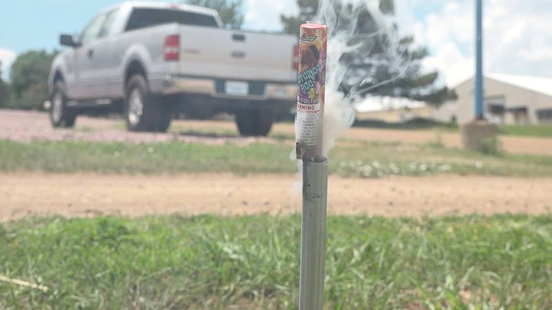 Firework safety as 4th of July nears and the area remains in a drought
