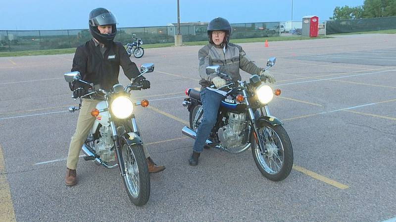 Motorcycle safety courses and rider training.