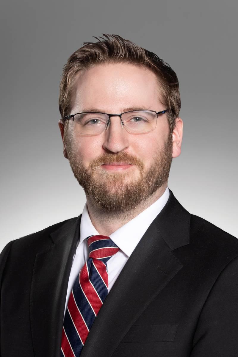 Headshot of Aaron Doudna, Morning Meteorologist