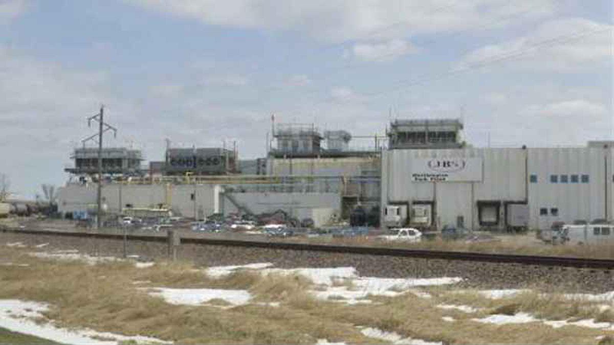 JBS facility in Worthington, courtesy KSTP-TV