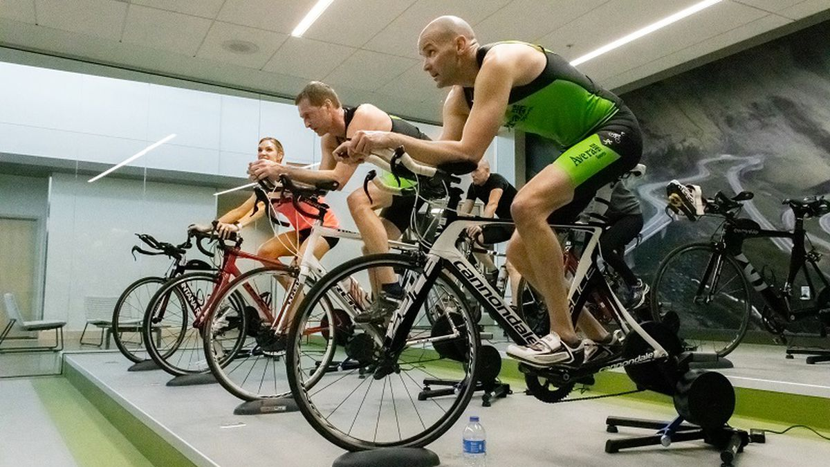 Cycling center at the Avera human performance center