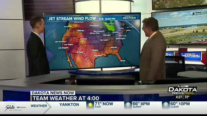 Expect another hot couple of days as we approach Wednesday