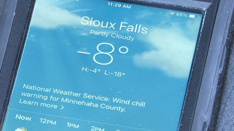 Frigid temperatures have gripped the region for weeks.