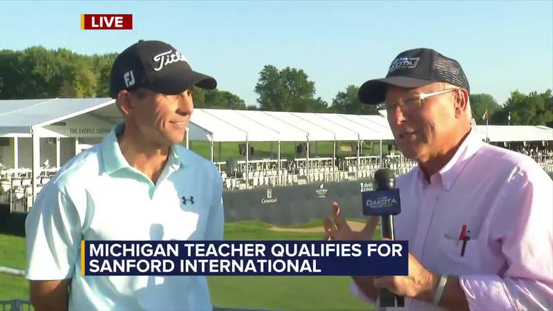 Mark O. is live at Sanford International with Michigan teacher who quit his job to chase his...