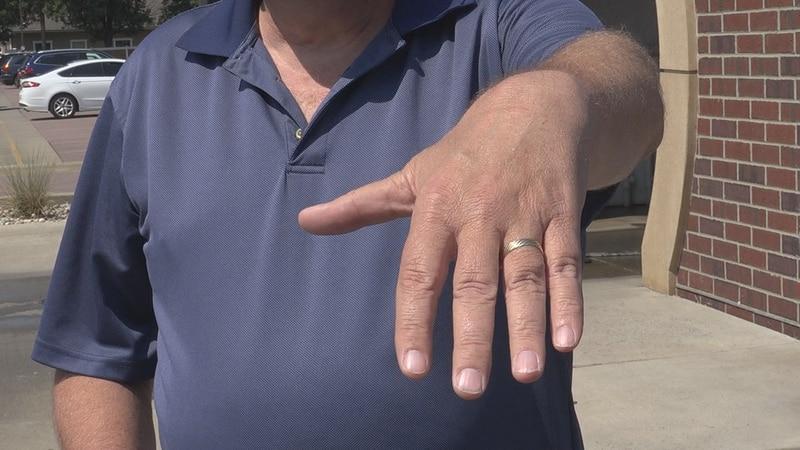 Sioux Falls man's lost wedding ring found at local car wash