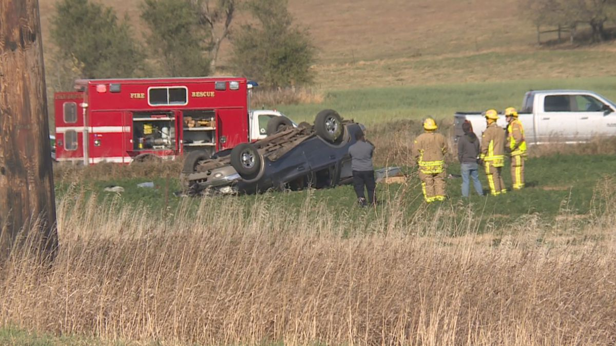 Fatal accident near Rowena, SD