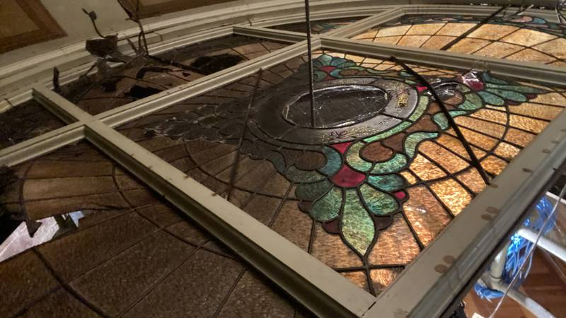 The Sully County Courthouse has started fundraising to restore a historic dome in their...
