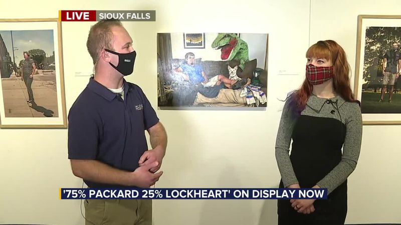 Family comes together to display art exhibit: 75% Packard 25% Lockheart