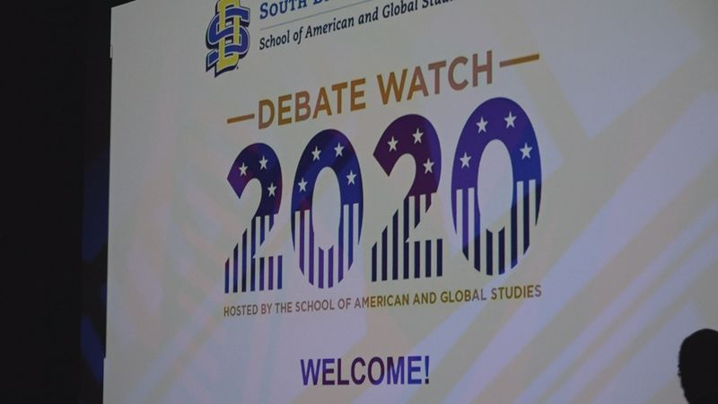 SDSU hosts Debate Watch 2020