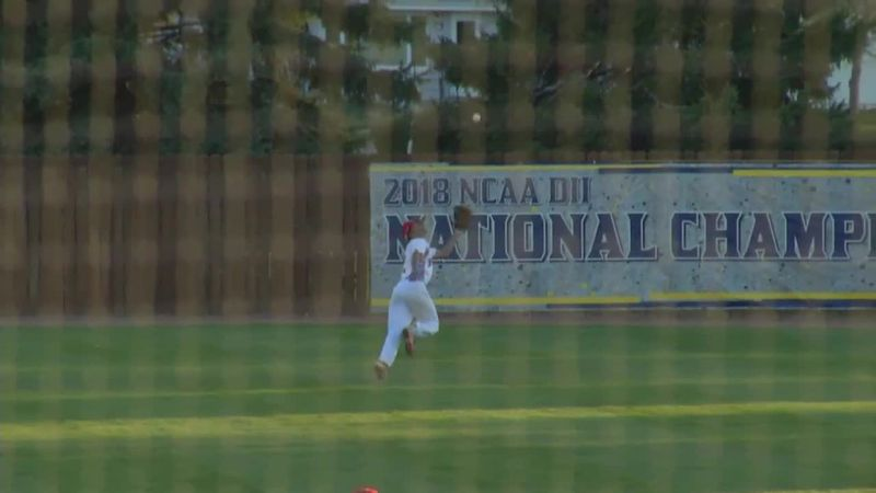 Hammerstom makes great catch as Lincoln edges Washington 5-4