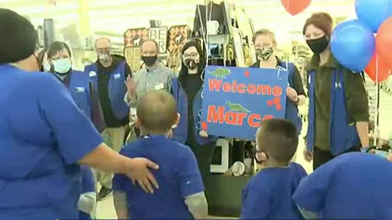 Local boy's Make-A-Wish shopping spree of a lifetime