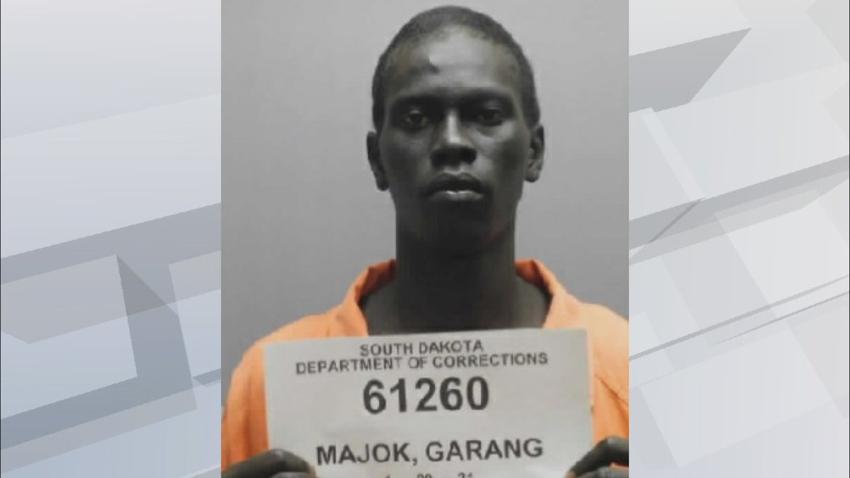 According to the Department of Corrections, Garang Majok didn't return to the Community Work...