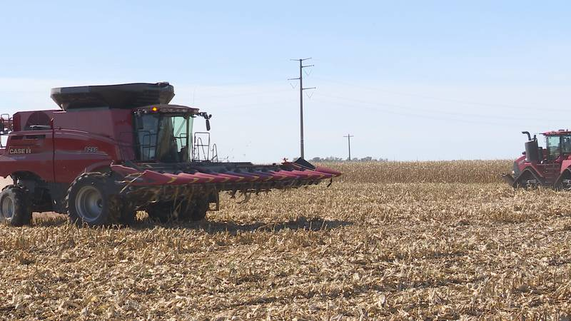 Continued drought conditions impacting South Dakota harvest.