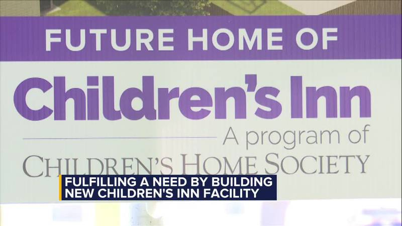 Fulfilling a need by completing new Children's Inn facility.