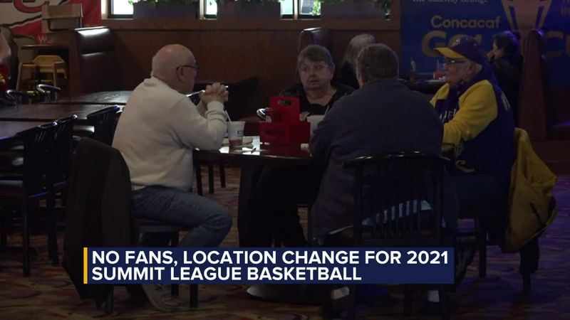 No fans for 2021 Summit League tournaments, Sioux Falls businesses discuss economic impact