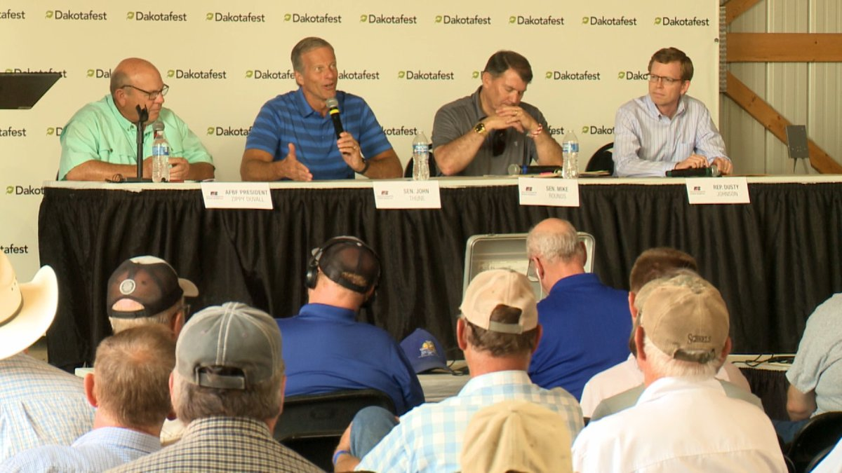 Dakota News Now caught up with South Dakota's Congressional Delegation while they were in...