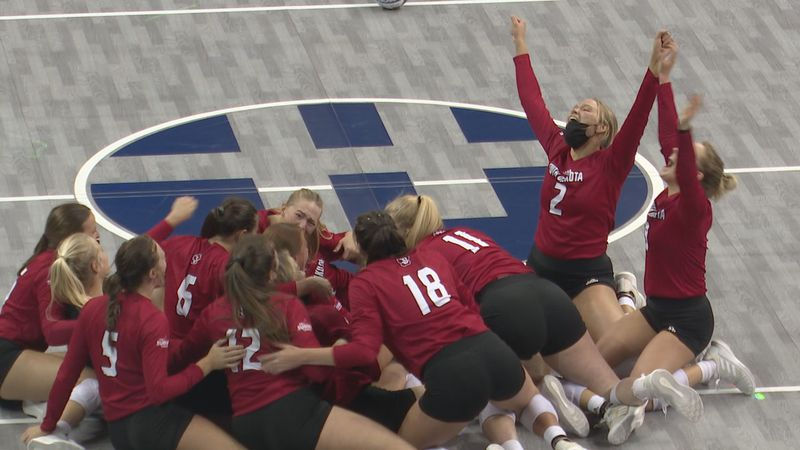 Rally from two sets down to beat Denver 3-2