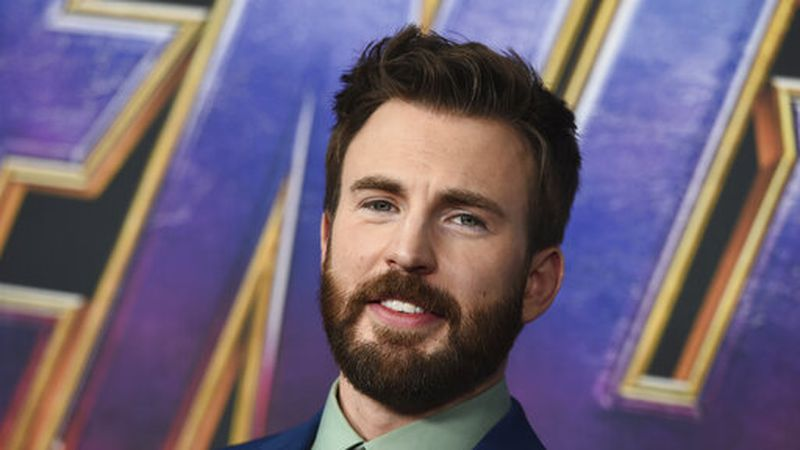 "FILE - In this April 22, 2019 file photo, Chris Evans arrives at the premiere of ""Avengers:..."
