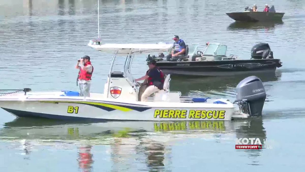Pierre man presumed drown in Missouri River.