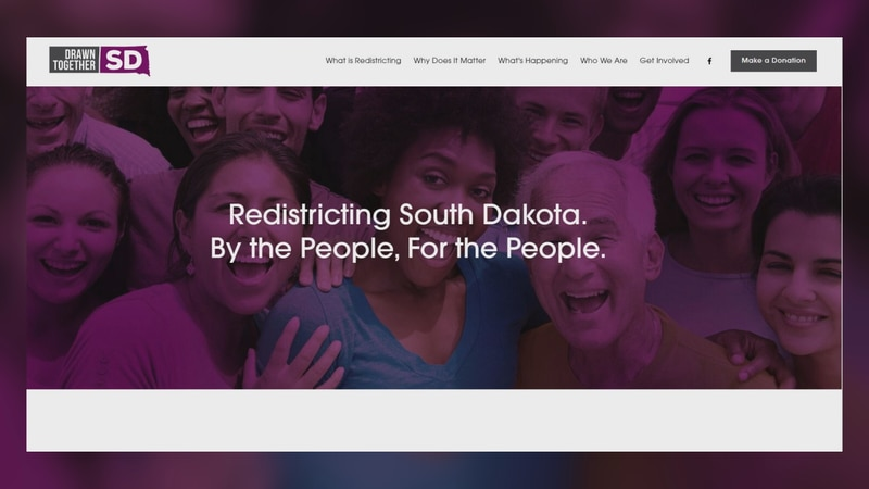 Drawn Together South Dakota start petition for independent redistricting commission