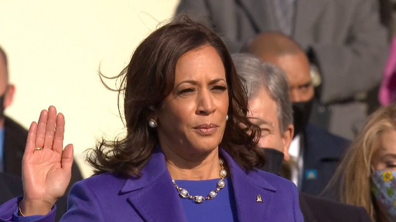 Harris' historic day offers hope for the future of female leaders.