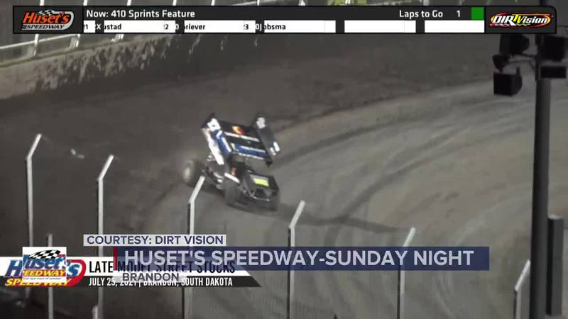 McCarl wins for 5th time at Huset's Speedway this season