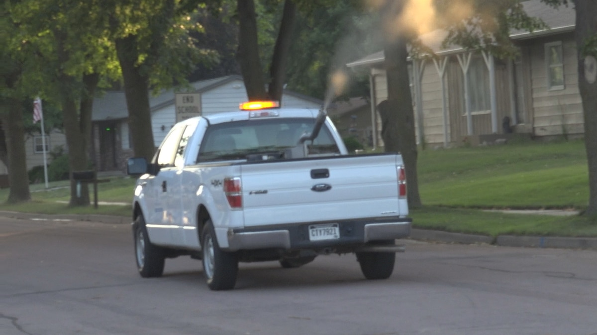 Sioux Falls mosquito control truck