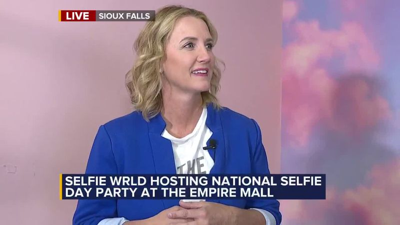 Selfie Wrld hosting National Selfie Day party at the Empire Mall.