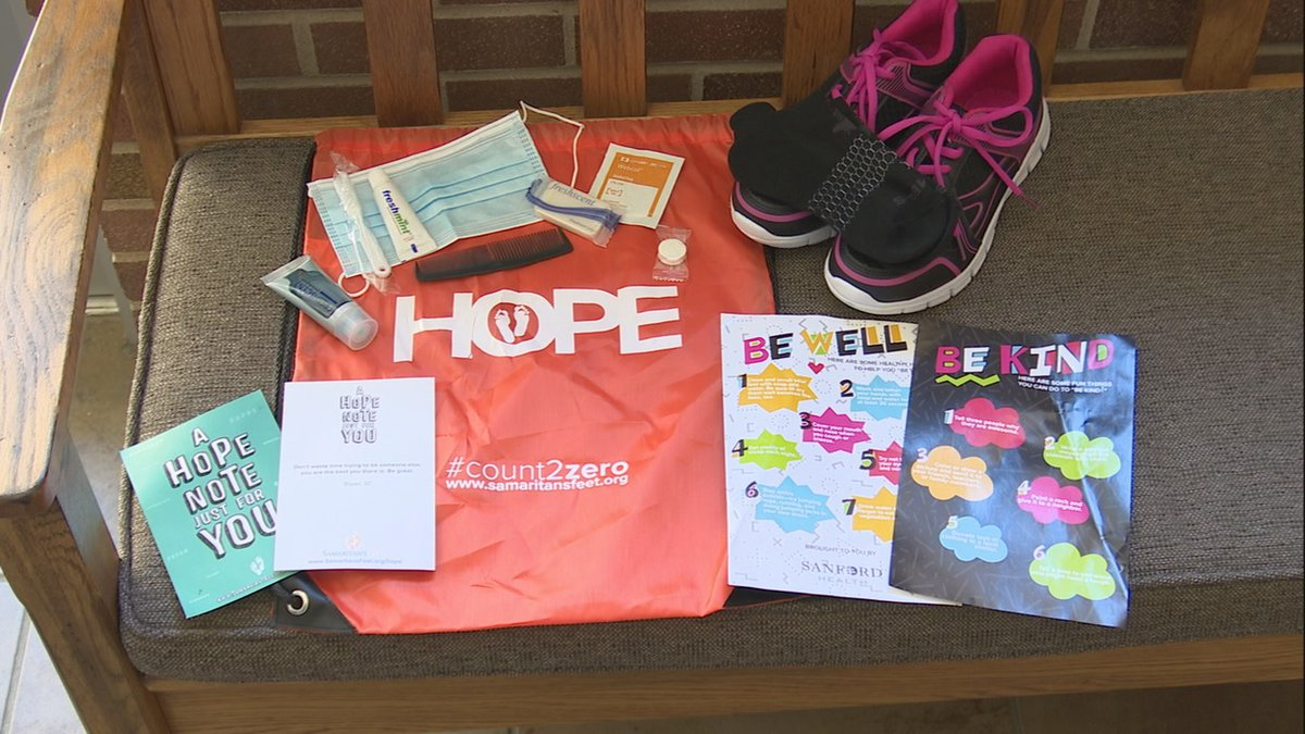Samaritan's Feet will have a shoe giveaway Saturday, August 22nd.