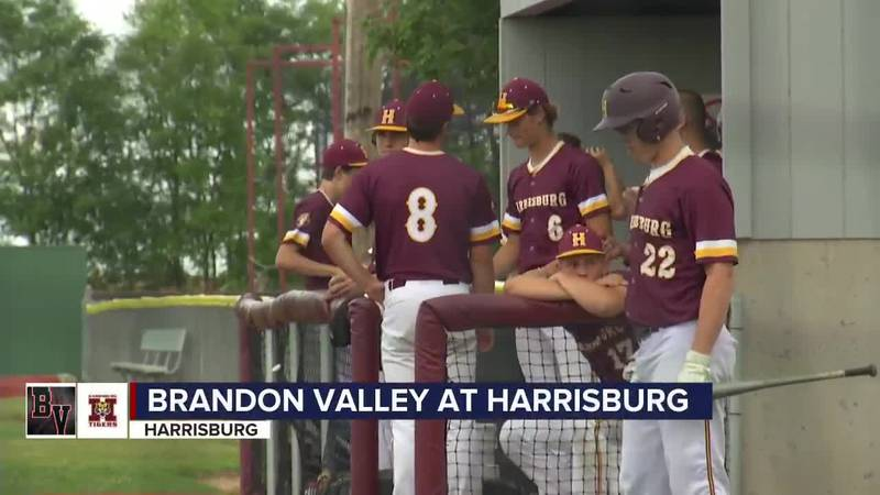 Harrisburg rallied past Brandon Valley in Game One