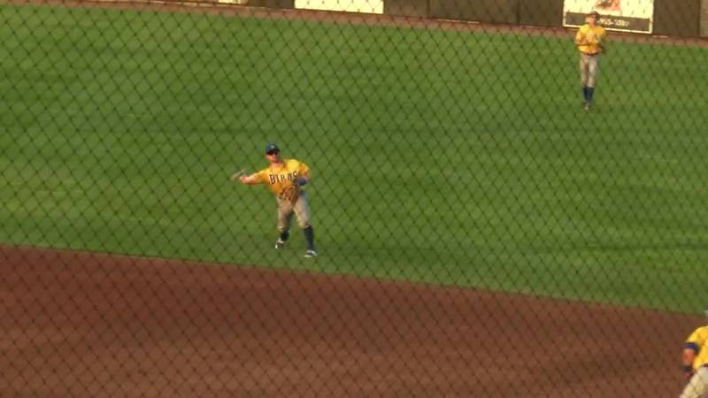 Nice putout during 2-0 win at Sioux City
