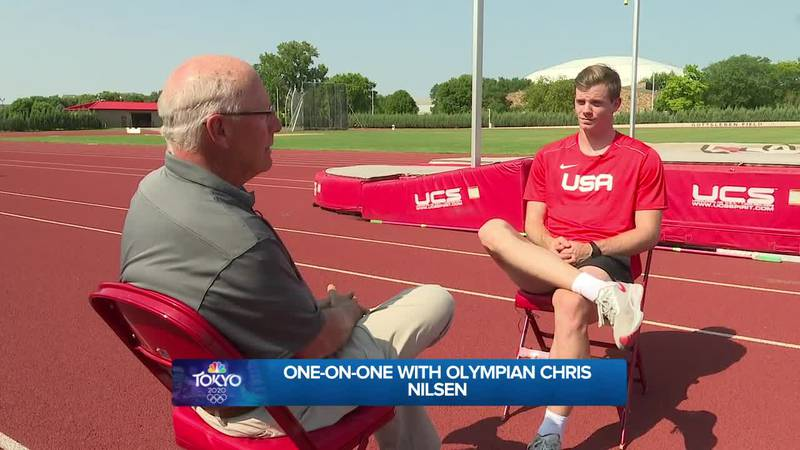 Mark talks with Chris Nilsen about going to his first Olympics