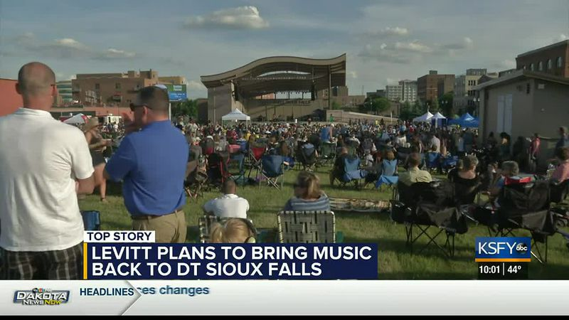 Levitt at the Falls plans the return of live music in Summer 2021