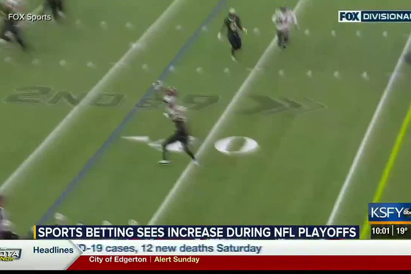 Sports betting sees increase during NFL Playoffs