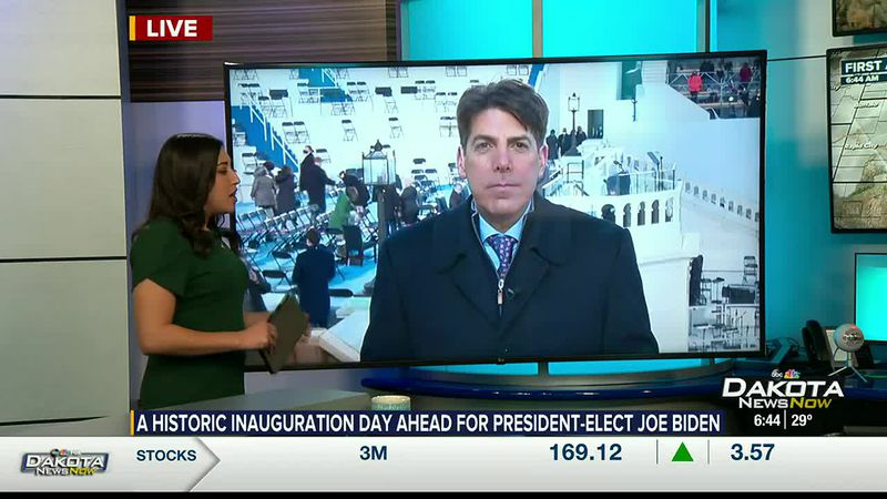 Gray Television's Chief White House Correspondent on Biden's inauguration