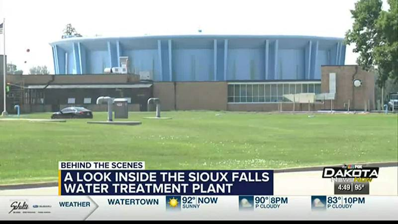 A look inside the Sioux Falls water treatment plant
