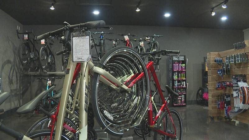 Sioux Falls' bike trails busier than ever, reflecting a nationwide demand for outdoor activity...