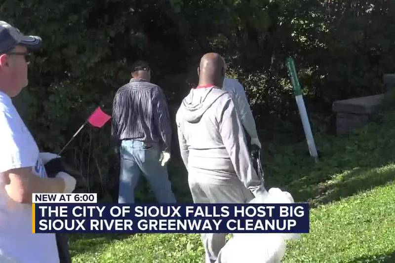 Big Sioux River Greenway Cleanup