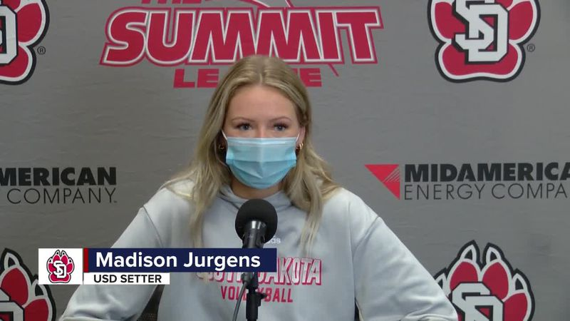 Jurgens and Coyotes are excited for Summit League Volleyball Tournament