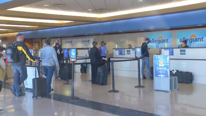 AAA anticipates Thanksgiving air travel volume will be down by nearly half of prior years to...